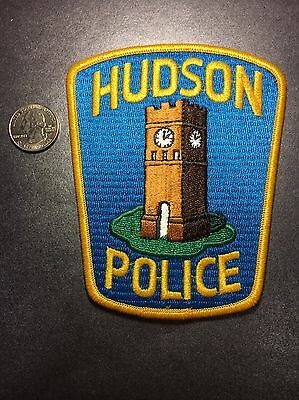 Hudson Ohio Police Department Patch Oh