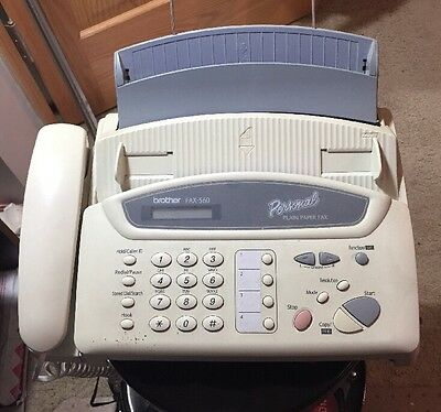 Brother FAX-560 Personal Plain Paper Fax, Phone, and Copier - Used