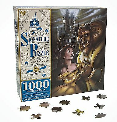 Disney Parks Beauty & the Beast 25th Anniversary 1000 Piece Puzzle