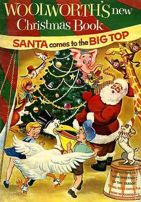 Woolworth's Christmas Story Book (1954)  Photocopy Comic Book - Santa Claus