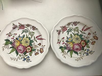 Spode x 2 Luncheon Plates Gainsborough no.3