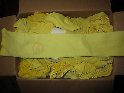 "One pair or 2 Pieces KEVLAR SLEEVES 18"" 2 Ply Cut Flame Fire Resistant No Thumb"