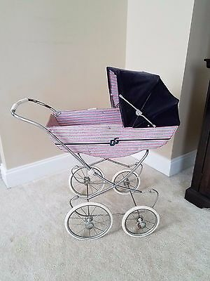 Vintage Antique GG Pram Baby Carriage Stroller Buggy Baby Doll Childs peg Pereg