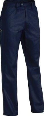 5 X Bisley Workwear Navy Original Cotton Drill Work Pant Navy Pants (Bp6007)