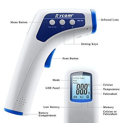 Non-contact Clinical Infrared Baby Thermometer - AU stock
