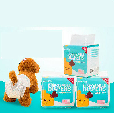Simple Solution Disposable Dog Diapers Sanitary Pet Dog Physiological Pants