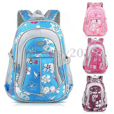 UK Childrens Kids Oxford Handbag Backpack Girls Boys Schoolbag Rucksack Package