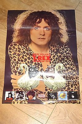 T. Rex / Marc Bolan Edsel Best Of & Album Reissues Promotional Poster