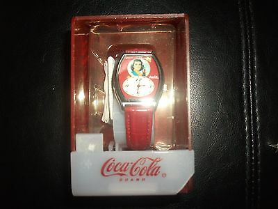 Vintage Coca Cola Wrist Watch (new)