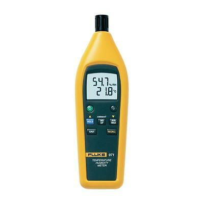 Fluke 971 Temperature Humidity Meter. -20 °C to 60 °C (-4 °F to 140 °F)