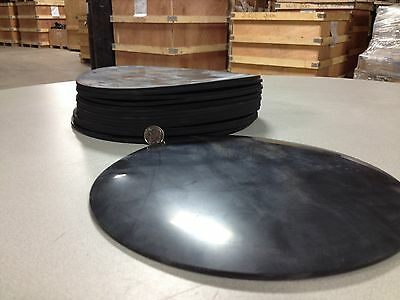 "Viton Rubber Gasket Material - 8 inch Disc x 1/8"" - 1 piece"