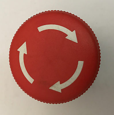 10 x Compact Emergency Stop button, button head dia 40mm, twist release,