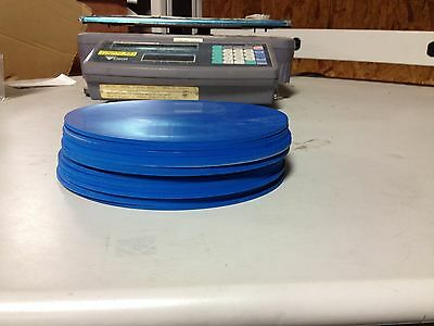 """Viton Rubber Gasket Material - 8 inch Disc x 1/8"""" - 1 piece Blue"""