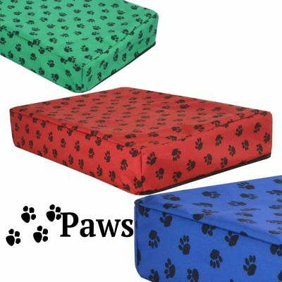 PAWS - ORTHOPEDIC MEMORY FOAM DOG WATERPROOF BED. Small & XLarge Animal Beds