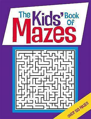 The Kids' Book of Mazes by Gareth Moore (Paperback) NEW
