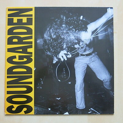 SOUNDGARDEN Louder Than Love UK vinyl LP A&M AMA 5252 1989 Ex+