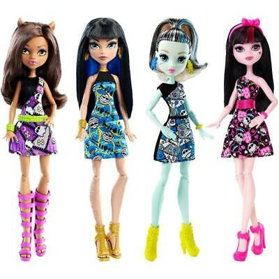 Monster High Original Ghouls Freaky Fashion Dolls Mattel Toys