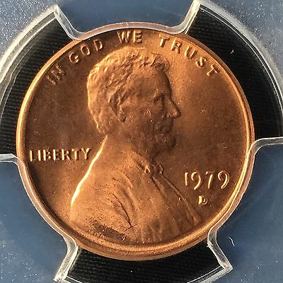 1979-D 1C RD Lincoln Memorial One Cent  PCGS MS67RD        83583816