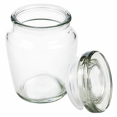 Small Airtight Seal Storage Jam Jar Preserve Container Clipseal Condiments Pot