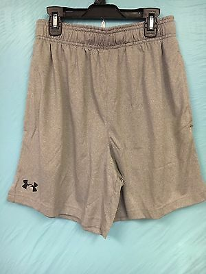NWT Under Armour Youth Boys Running Shorts SZ.S Gray/Black