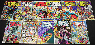 Marvel Bronze-Modern GHOST RIDER 135pc Count Mid-High Grade Comic Lot VF-NM