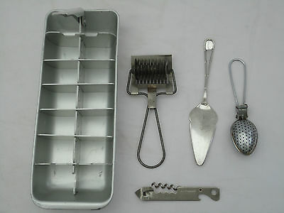 Vintage Tala Pastry Cutter Oasis Opener Strainer Ice Tray 5 Items Collectors F3