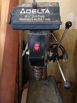 "Delta 16 - 1/2"" drill press with 3/4 H motor,  model 17-900"