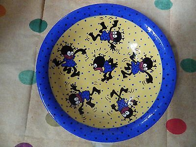 bowl  monkeys of melbourne 1989 rare custom made memphis very large rare
