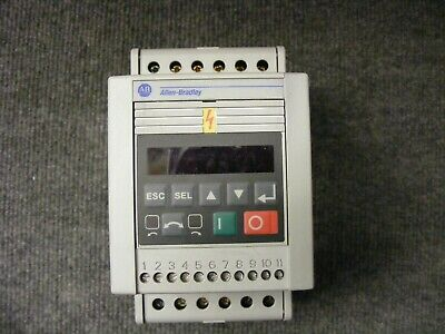 Allen Bradley Analog Motor Speed Controler Cat No 160-BA03NSF1 ser C  1HP 0.75KW