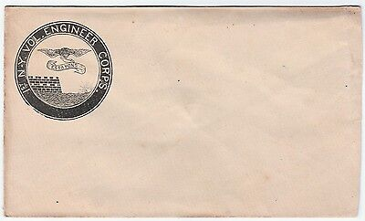 RARE 1860s Civil War Cover Envelope - 1st NY Vol Engineer Corps Essayons Soldier