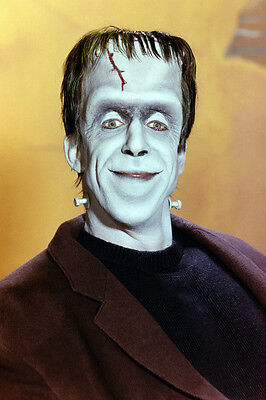 Fred Gwynne Studio Smiling Portrait As Herman From The Munsters 11x17 Poster