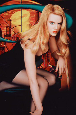Nicole Kidman As Dr. Chase Meridian Batman Forever 11x17 Poster Cleavage Pose