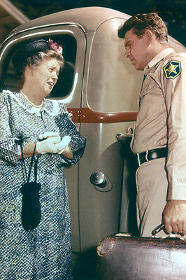 Andy Griffith Frances Bavier Pick Up Truck The Andy Griffith Show 11x17 Poster