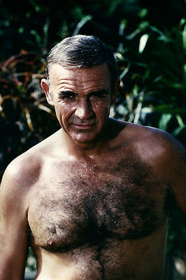 Never Say Never Again Sean Connery Barechested Hunky 11x17 Mini Poster