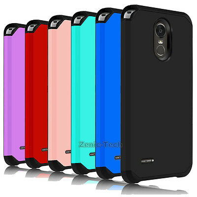 For LG Stylo 5/Stylo 4/3 Plus Phone Case Hard Armor Shockproof Rugged Back Cover