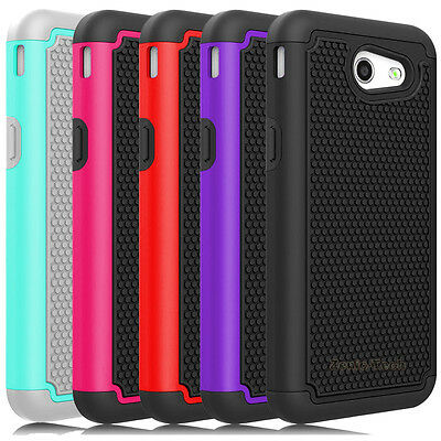 For Samsung Galaxy J3 Emerge/ Amp Prime 2 Case Shockproof Armor Hard Phone Cover