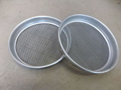 Gold Panning Sieve Set 1 x1-8 and 1 x1-4