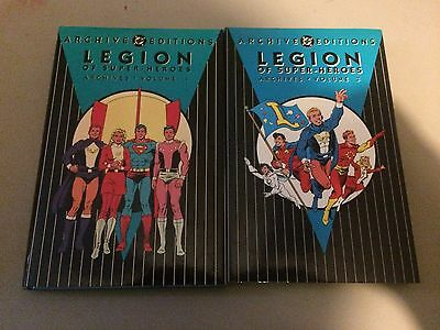 Legion of Super-Heroes Archives Volumes 1, 2, 3, 4