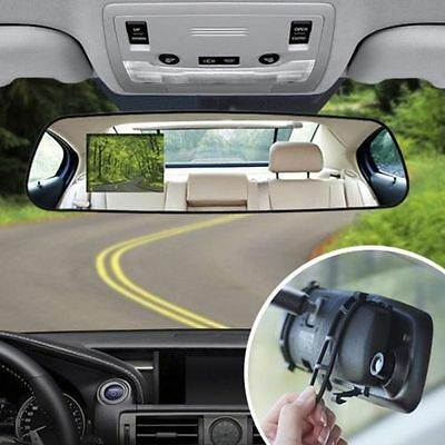 1080P HD Dual Universal Auto Rear View Mirror Safety Dash Cam Recorder
