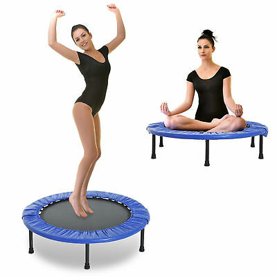 "Φ40"" Foldable Mini Fitness Trampoline Home Gym Yoga Exercise Rebounder Jumper"