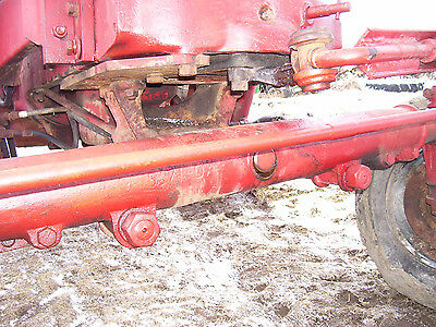 Vintage  International Farmall M Tractor - Ih Wide Front Assy - 1951
