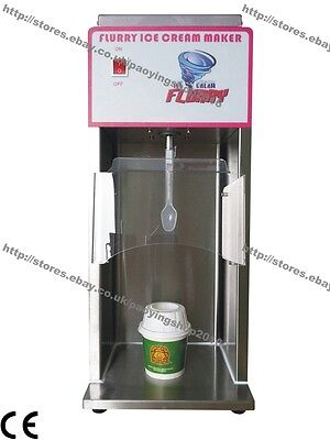 2500rpm Commercial Auto Soft Ice Cream Flurry Maker Machine Shaker Mixer Blender
