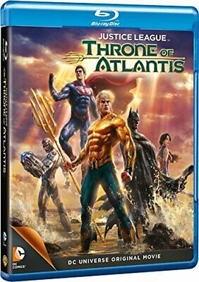 Justice League: Throne Of Atlantis [Blu-ray] [Region Free] - DVD  LSVG The Cheap