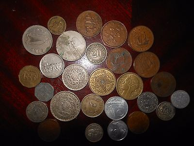 Job Lot Old Coins, Good - Extremely Fine, 1800s - 1900s, British, French etc.