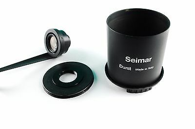 Durst Lens Board Adapter SEIMAR -M12 enlarger lens Schneider-Kreuznach 1:4/ 50mm