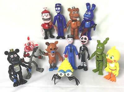 12Pcs Five Nights at Freddy's FNAF Action Figures Doll Games Toy UK