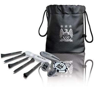 Manchester City F.C. Tote Bag Golf Gift Set