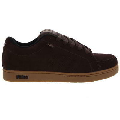 4b98ef303e7da ETNIES KINGPIN MENS Brown Gum Skate Shoes Trainers Size UK 7-13