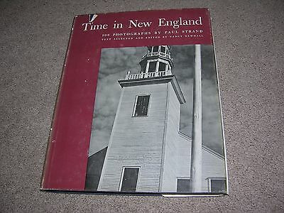 1950 Time in New England by Paul Strand/Nancy Newalll Photographs 1st ed hc/dj