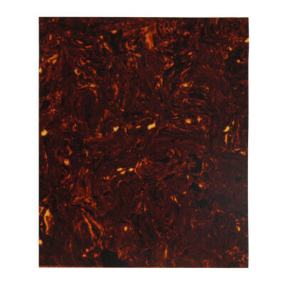 NEW 1pcs Brown Tortoise Shell Color Pickguard Blank Sheet for Acoustic Guitar